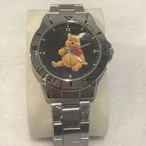 Men's Winnie The Pooh Stainless Steel Watch